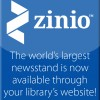 New! Zinio Digital Magazines Available Now