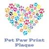 Pet Paw Print Plaque (LRT)