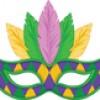 Make A Mardi Gras Mask