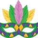 Mardi Gras Mask Making