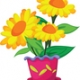 Paint a Clay Flower Pot