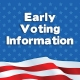 Early Voting Now Through October 27