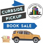 Friends' Curbside Pickup Book Sale on Saturday, March 27