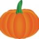 Fall Pumpkin Tile Craft