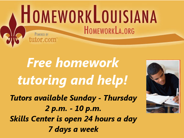 Homework Louisiana
