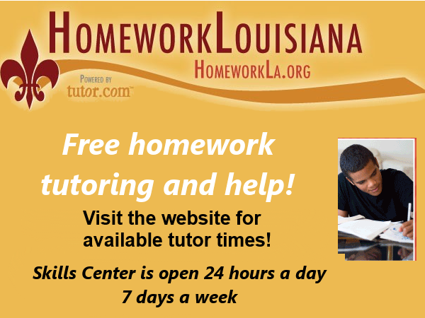 Louisiana homework help