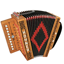 Hohner Cajun IV Accordion (3)